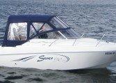 Saver 590 Cabin - sportliches Kajütboot bei Schuetze-Boote Berlin kaufen. Motorboote + Cruiser aus Italien.
