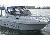 Saver 650 Cabin - sportliches Kajütboot bei Schuetze-Boote Berlin