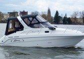 SAVER Riviera 24 mit Mercruiser 4,5 MPi | Edler Sportcruiser mit 4 Schlafplätzen | Schütze Boote Berlin