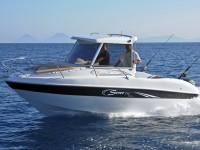 Saver 590 Fisher, Kajütboot mit Hardtop aus Italien bei Schütze-Boote Berlin kaufen