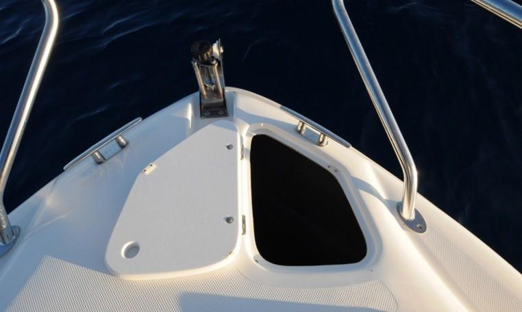 Saver 590 Fisher - Hardtop-Modell aus Italien