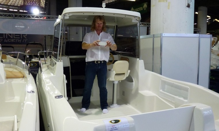 Saver 590 Fisher | Kajütboot mit Hardtop aus Italien. Motorboot bei Schütze-Boote Berlin kaufen