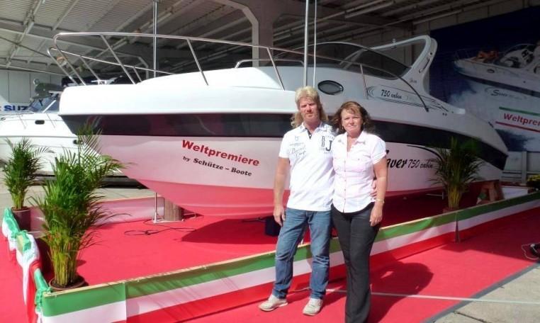 Saver-750-Cabin-Premiere-bei-Schütze-Boote Berlin