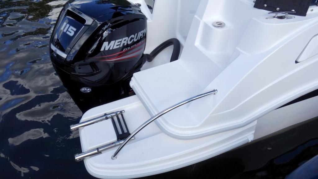 DRAGO: zusätzl. externe Badeplattformen | Schütze-Boote