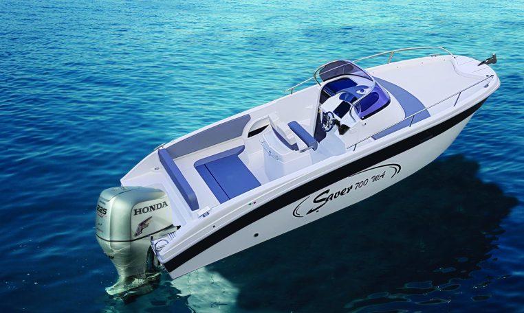 Saver 700 WA | neuer Walkarounder | Schütze-Boote Berlin