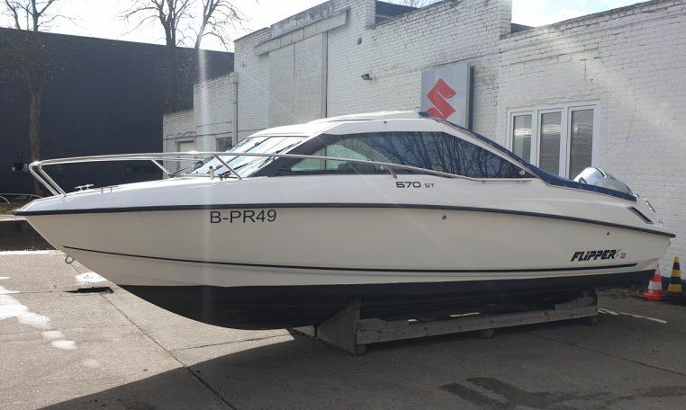 TOP-Gebrauchtboot FLIPPER 670 ST mit Honda BF 150 XU | Schütze-Boote Berlin