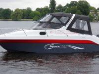 Saver-650-Cabin bei Schütze-Boote Berlin kaufen   auch individuelle Farbdesigns möglich
