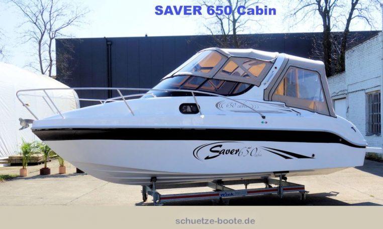 Saver-650-Cabin bei Schütze-Boote Berlin kaufen | auch individuelle Farbdesigns möglich