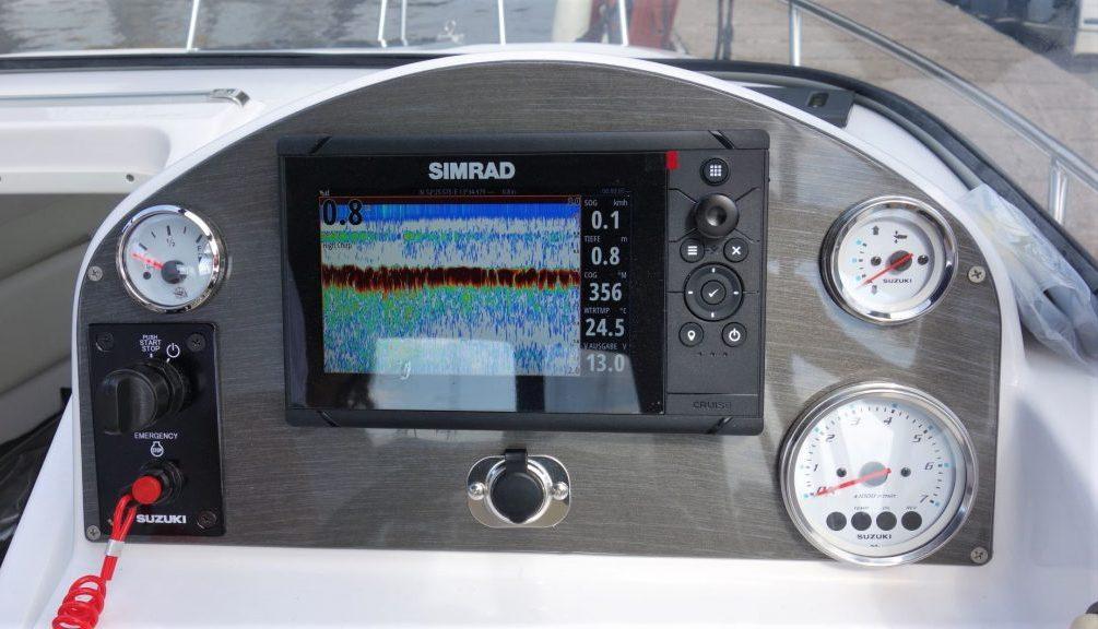 DRAGO: Kombigerät GPS-Echolot | Schütze-Boote